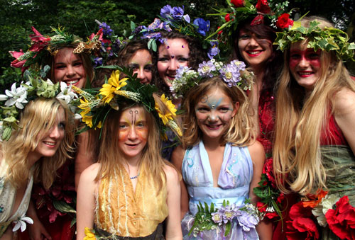 flower fairies from Cherry of Zennor
